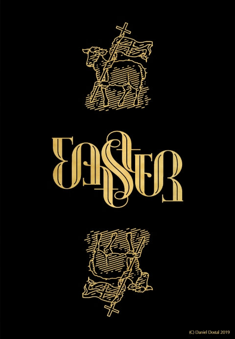 easter_ambigram